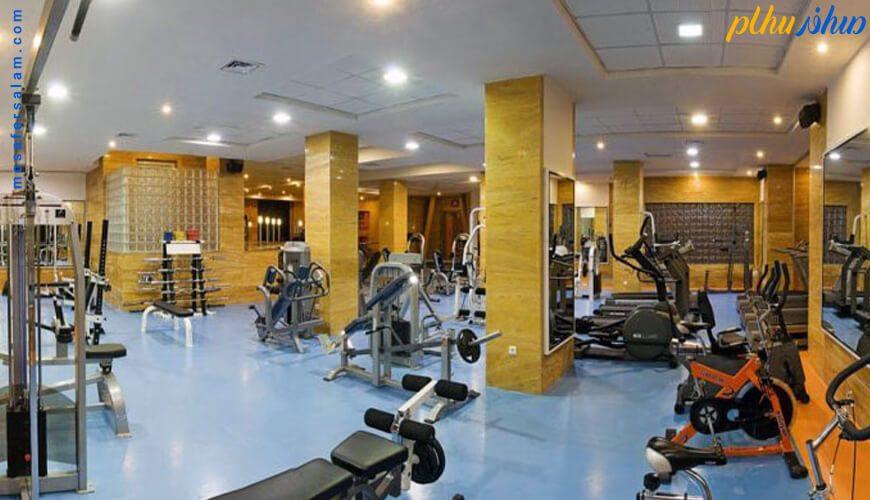 سالن ورزشی هتل چمران شیراز