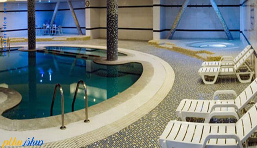استخر هتل چمران شیراز