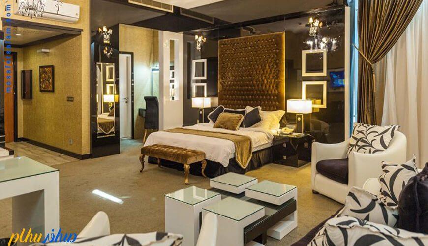 اتاق هتل درویشی مشهد