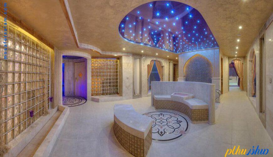 مجموعه آبی هتل مجلل درویشی مشهد