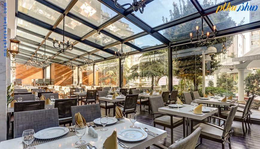 رستوران پارسه هتل انقلاب تهران