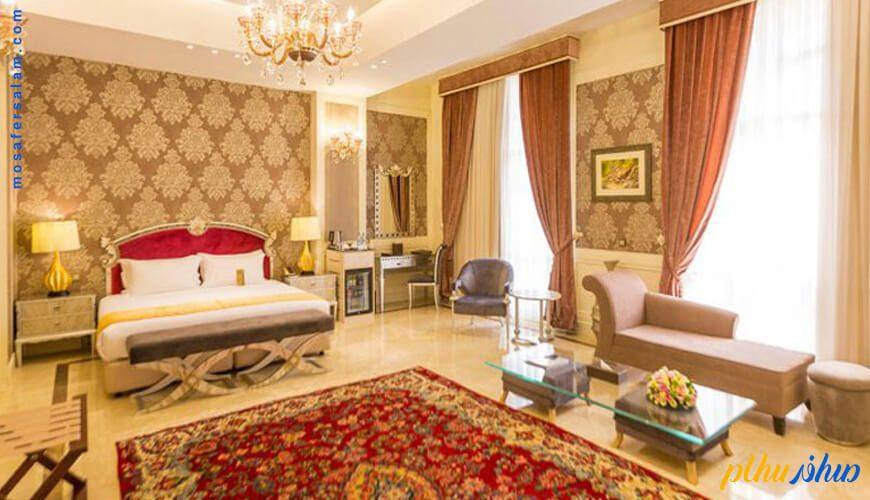 اتاق هتل اسپیناس پالاس تهران
