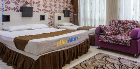 اتاق هتل اسپینو مشهد