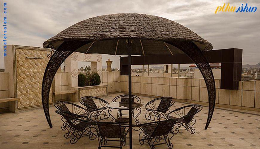 کافه بام هتل اسپینو مشهد