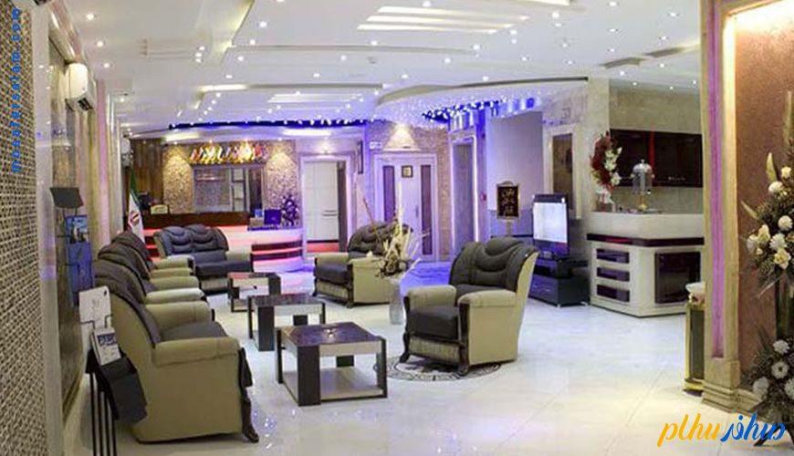 لابی هتل اسپینو مشهد