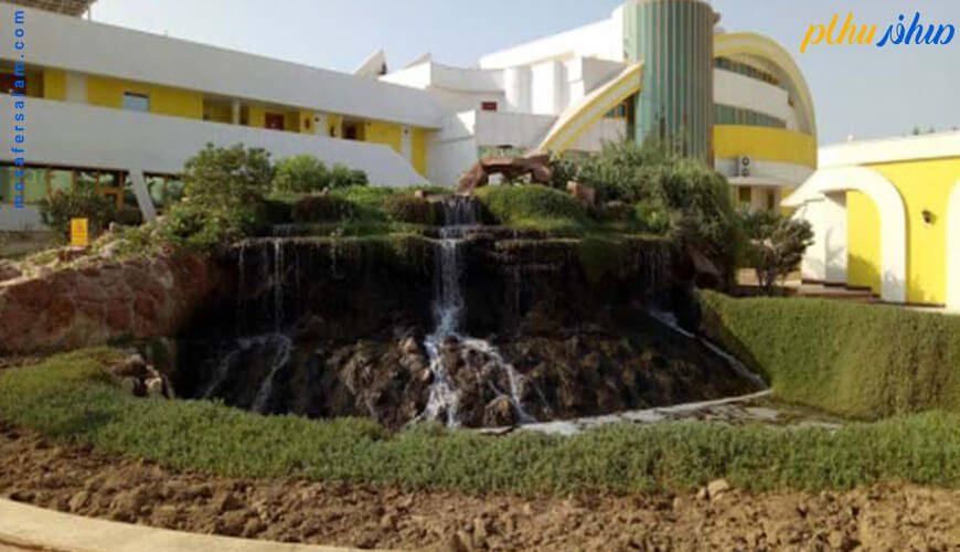 آبنما هتل فلامینگو کیش