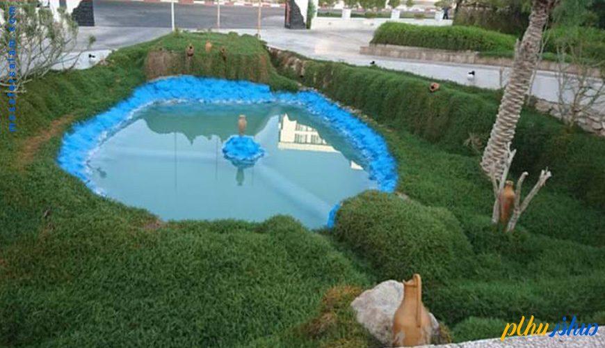 فضای سبز هتل گراند کیش