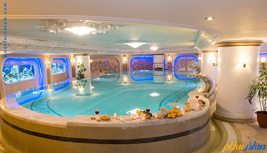 استخر هتل قصر مشهد