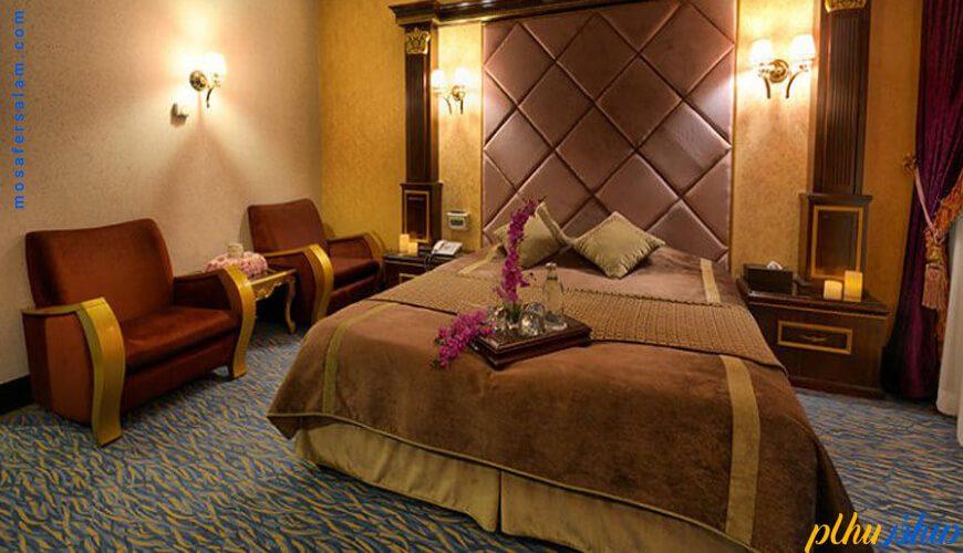 اتاق هتل قصر مشهد