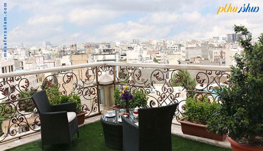balkon hotel ghasre talayi mashhad