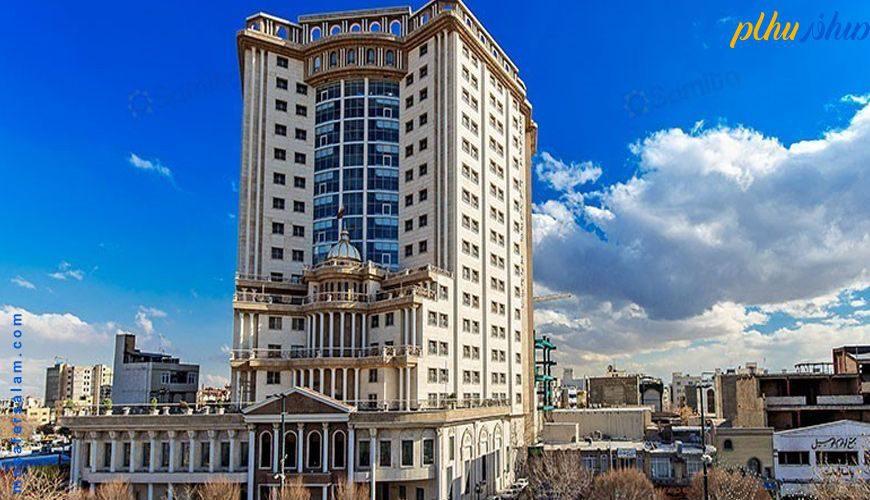 nama hotel ghasre talayi mashhad