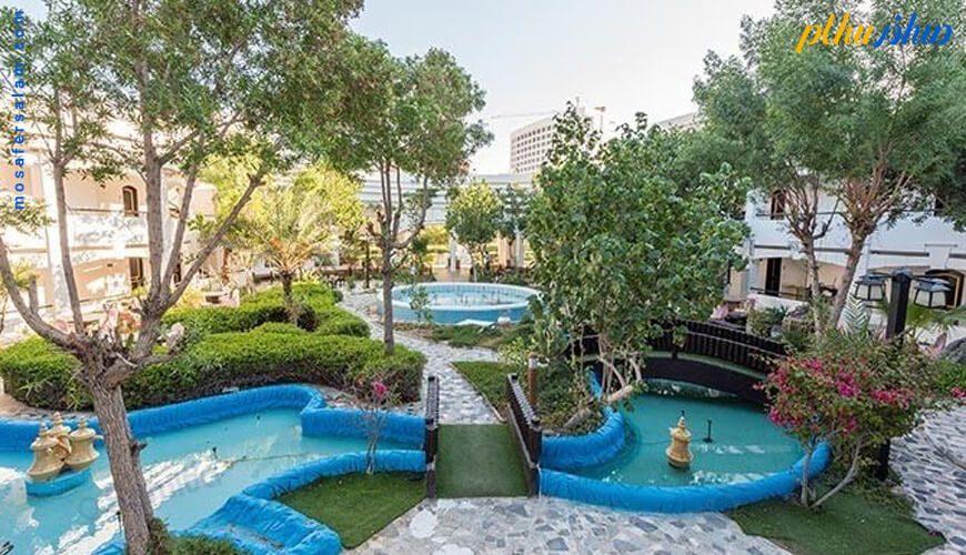 فضای سبز هتل هلیا کیش