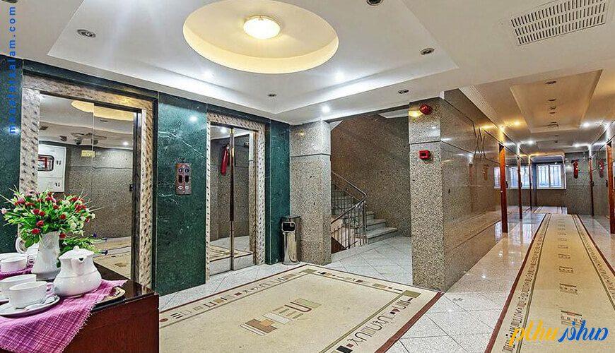 سالن هتل هلیا مشهد