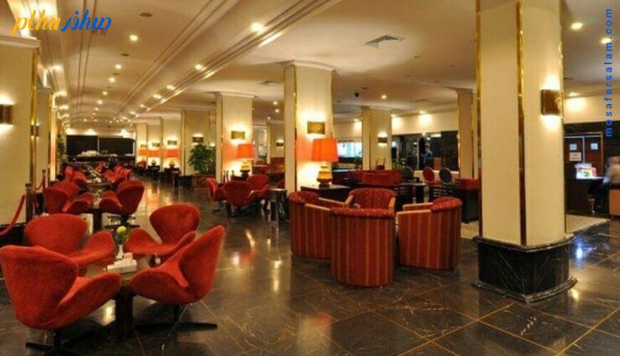 کافی شاپ هتل هما تهران