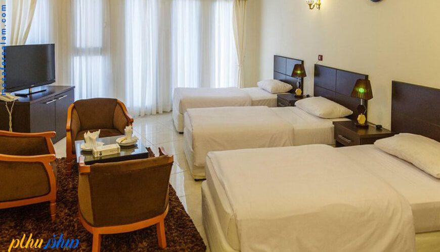 اتاق هتل جام جم کیش