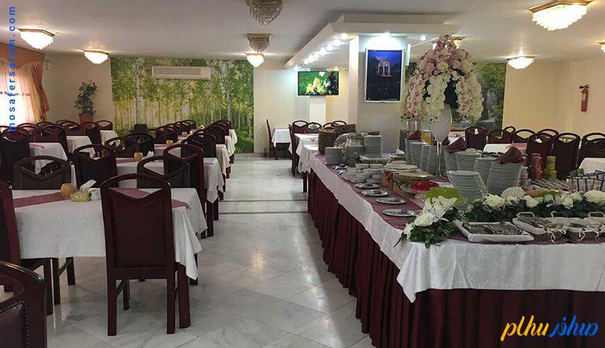 رستوران هتل خانه سبز مشهد