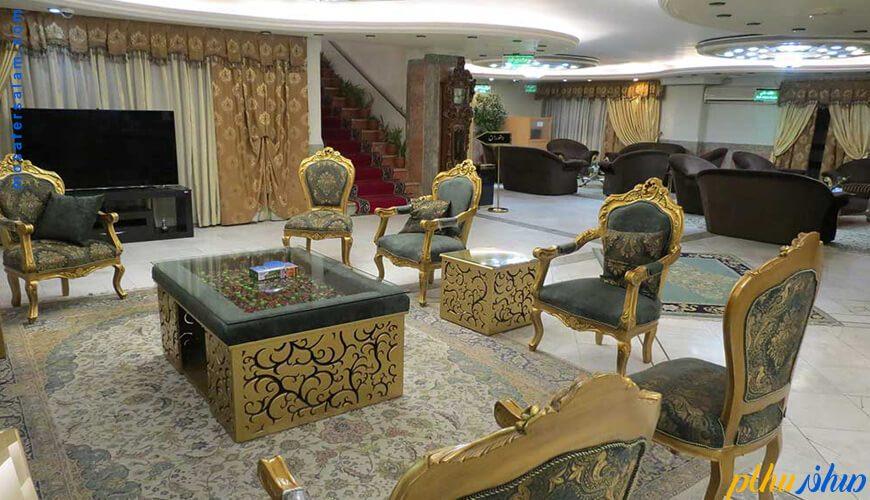 لابی هتل خانه سبز مشهد