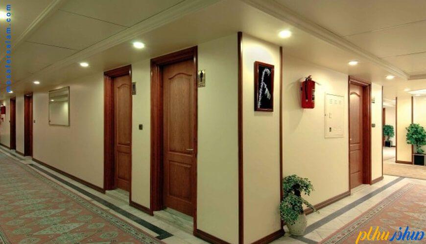 راهرو هتل خانه سبز مشهد
