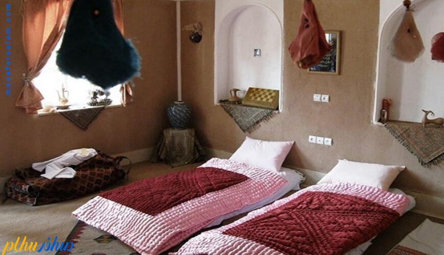 اتاق سنتی هتل بالی خور و بیابانک