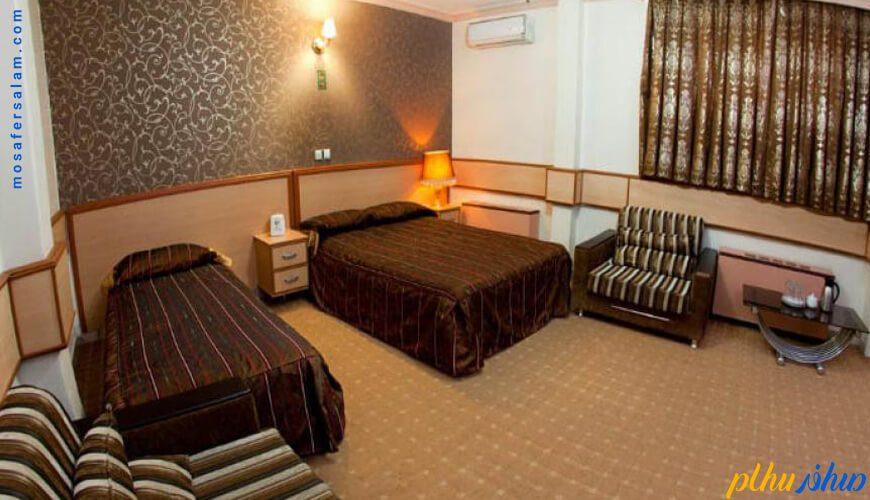 اتاق سه نفره هتل کوثر مشهد