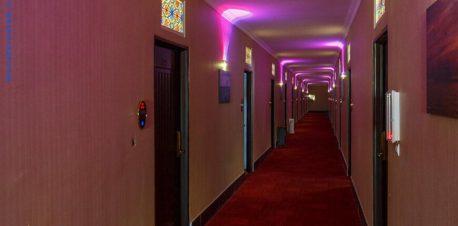 راهرو هتل مارینا 1 قشم
