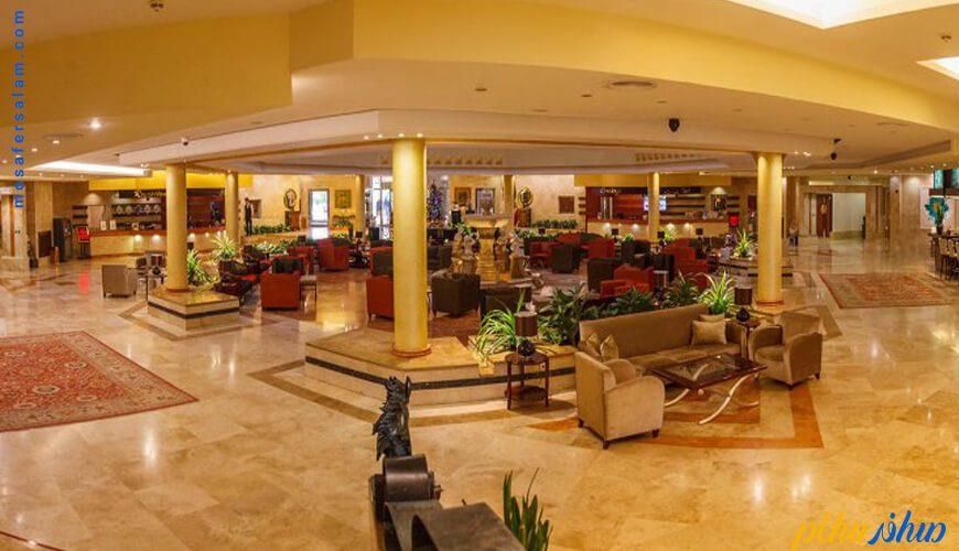 لابی هتل مارینا پارک کیش