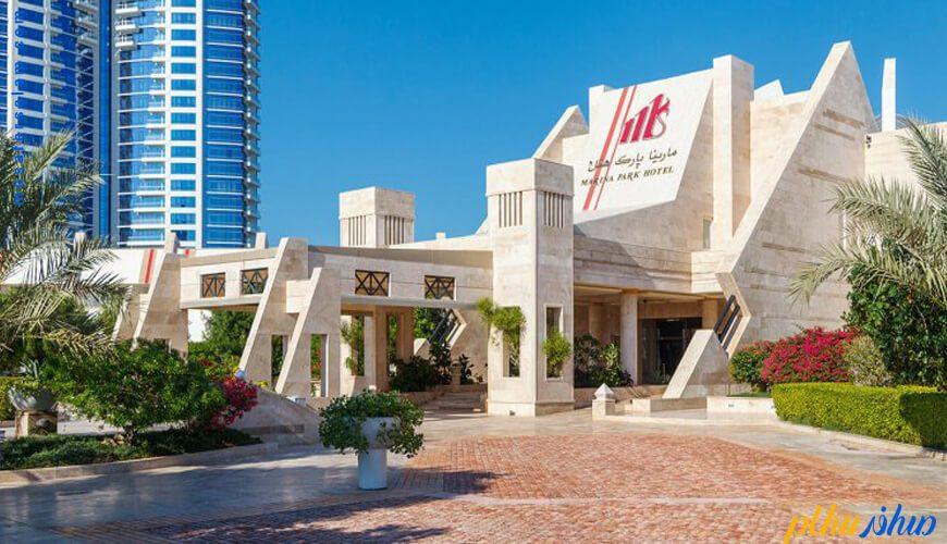 ورودی هتل مارینا پارک کیش