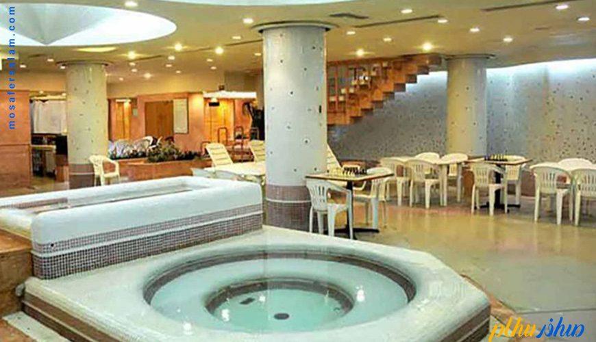 جکوزی هتل پارمیدا کیش