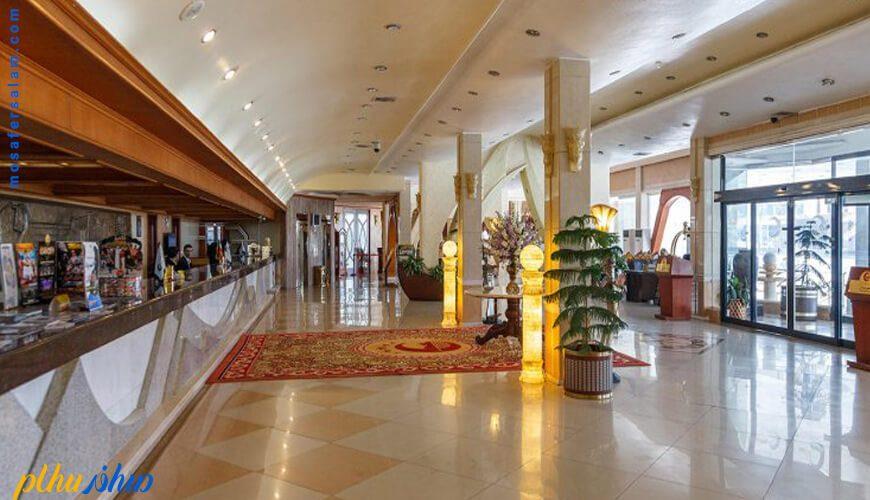 پذیرش هتل پارمیس کیش