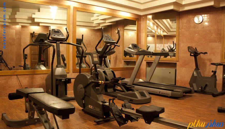 سالن ورزشی هتل پارس شیراز