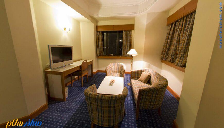 اتاق هتل پارس شیراز