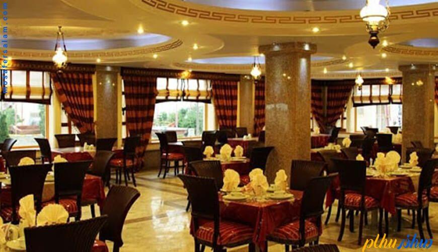 رستوران پارسه هتل پارسیان عالی قاپو اصفهان