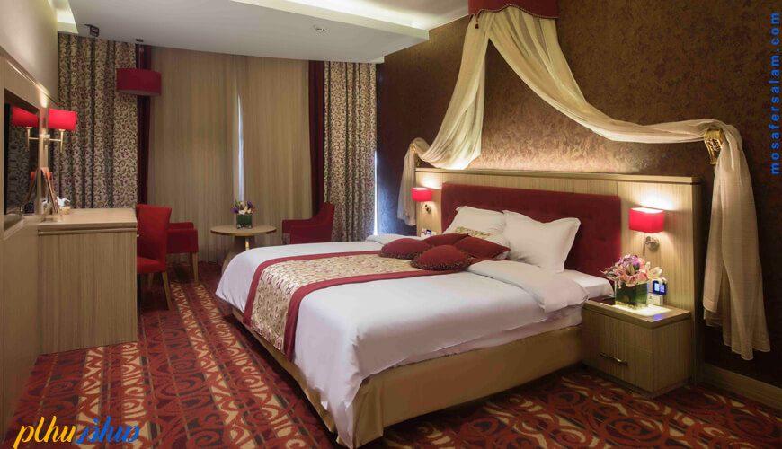 اتاق هتل پارسیان کوثر اصفهان