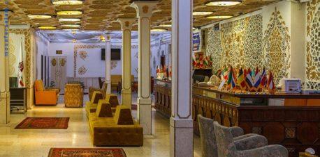 پذیرش هتل پارسیان کوثر تهران