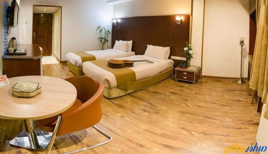 اتاق هتل پیروزی اصفهان