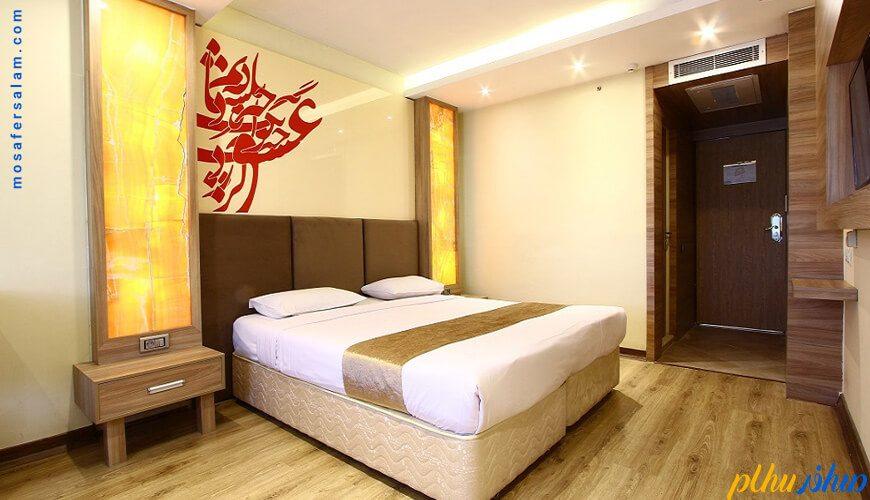 اتاق هتل سفیر اصفهان