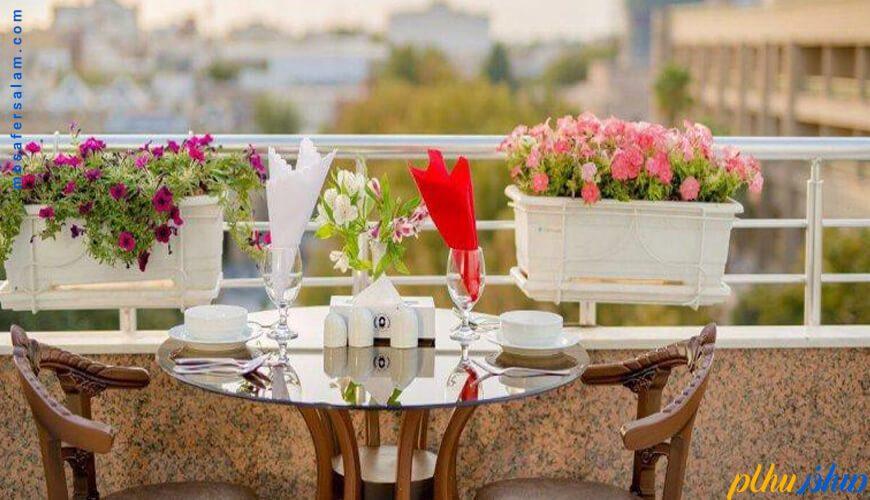 تراس هتل سفیر اصفهان