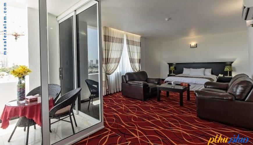 اتاق هتل سان رایز کیش