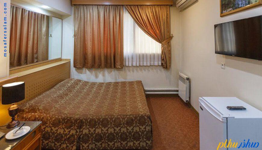 اتاق هتل ساسان شیراز