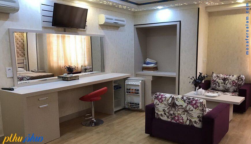 اتاق هتل سپاهان اصفهان