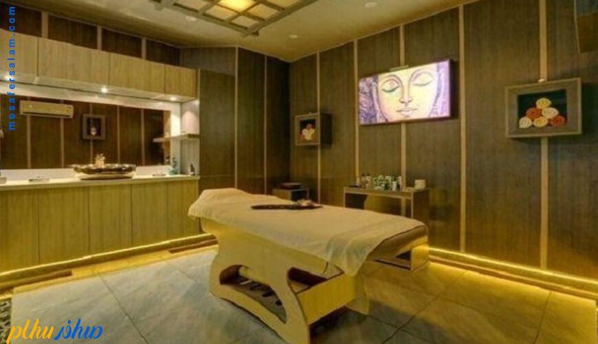 سالن ماساژ هتل شایگان کیش