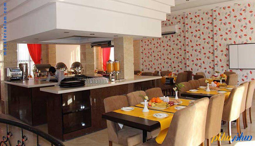 رستوران هتل شایلی کیش