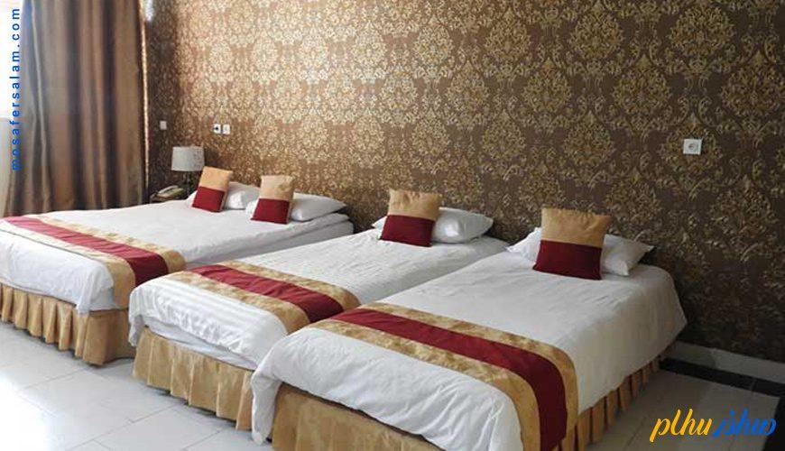 اتاق هتل سیمرغ کیش