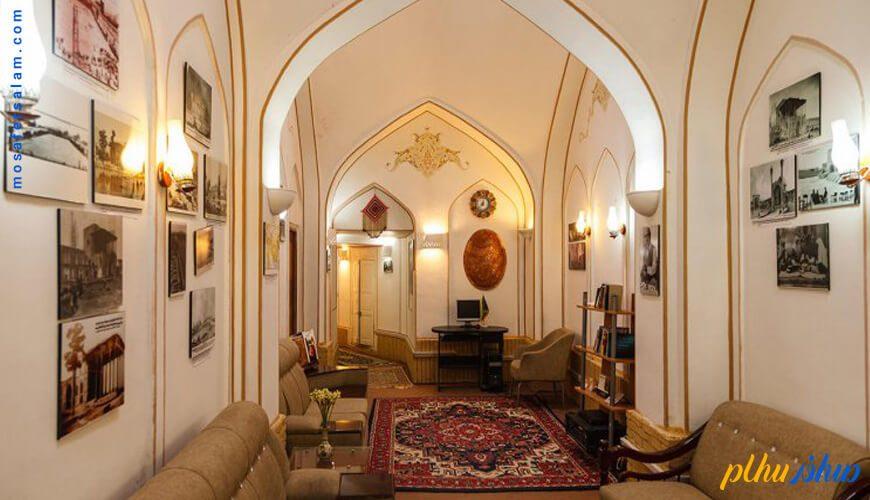 لابی هتل سنتی اصفهان