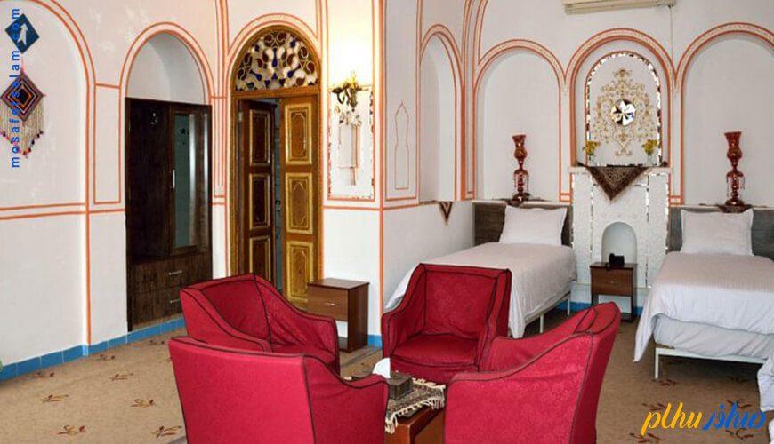اتاق هتل سنتی اصفهان