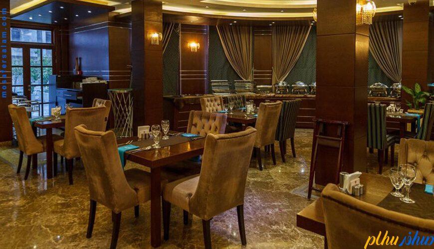 زستوران هتل سورینت مریم کیش