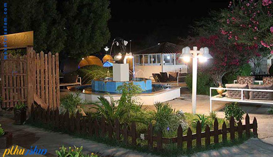 فضای سبز هتل سورینت تاپ رز کیش