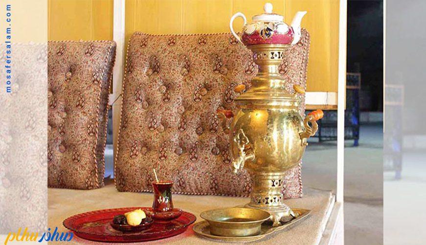 فضای سنتی هتل سورینت تاپ رز کیش