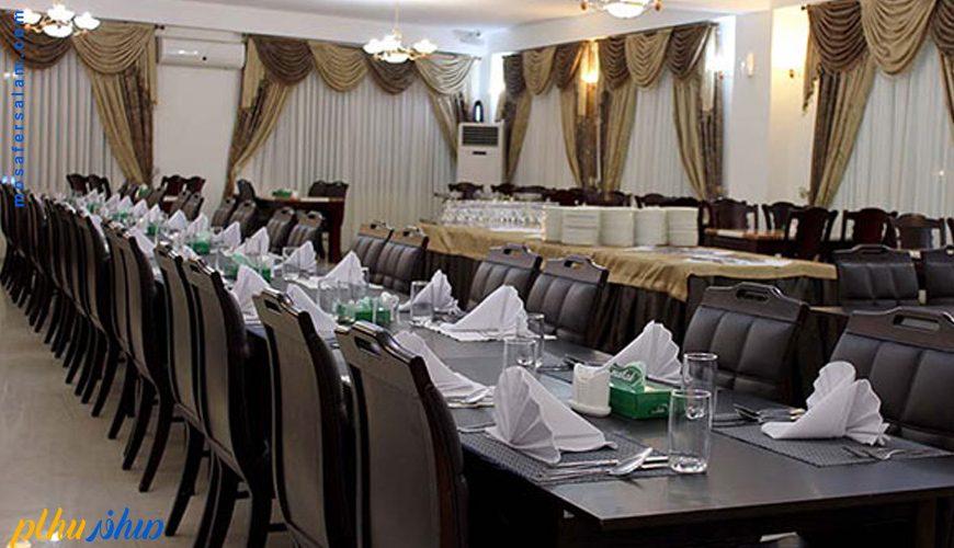 رستوران هتل سورینت تاپ رز کیش