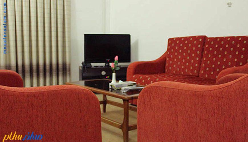 اتاق هتل سورینت تاپ رز کیش